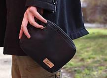 - Korková pánska taška na zápästie - 7963690_
