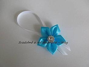 Darčeky pre svadobčanov - Stužky na fľaše - 7964379_