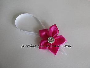 Darčeky pre svadobčanov - Stužky na fľaše - 7964392_