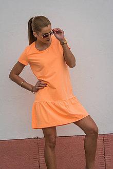 Šaty - SPORTY DRESS ORANGE - 7964728_