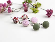 Sady šperkov - Set pôvabných náušníc z francúzskeho ľanu - 7965466_