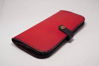 Peňaženky - Dámská kožená peňaženka na želanie - 7963804_