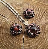 Sady šperkov - bíčie oko - 7965555_