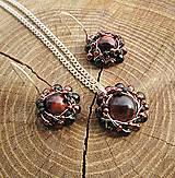 Sady šperkov - bíčie oko - 7965556_