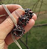 Sady šperkov - bíčie oko - 7965669_