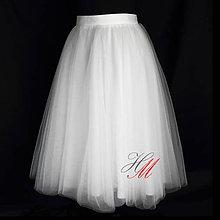 Sukne - Tylová sukňa rôzne farby - 7965241_
