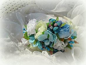 Ozdoby do vlasov - Flowers No. 4 - 7969080_