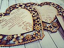 Darčeky pre svadobčanov - Gravírované poďakovanie pre rodičov :) - 7969314_