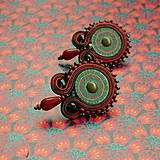 - Indian Boho earrings n.2 -  sutaškové náušnice - 7969511_