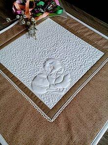 Úžitkový textil - Veľkonočný obrus - 7969869_