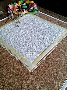 Úžitkový textil - Veľkonočný obrus - 7969955_