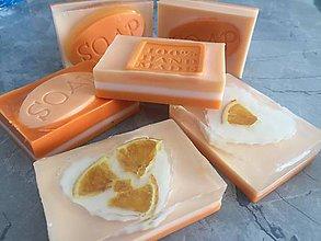 Iné doplnky - Dekoračné mydlo sušený pomaranč - 7972607_