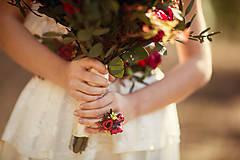 Kytice pre nevestu - Boho svadobná kytica