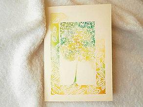Papiernictvo - Pohľadnica, jemný pozdrav - 7969307_