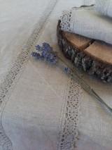 Ľanový obrus Raw Linen