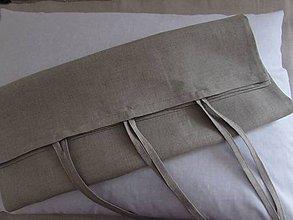 Úžitkový textil - Ľanová obliečka 50x70cm - 7975582_