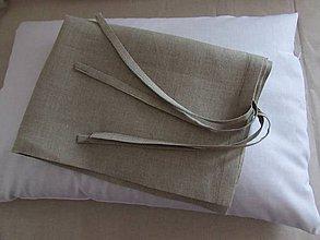 Úžitkový textil - Ľanová obliečka 40x50cm - 7975603_