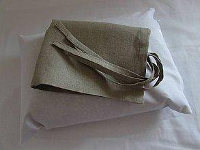 Úžitkový textil - Ľanová obliečka 30x40cm - 7975647_