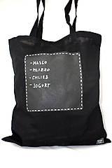 Nákupné tašky - Taška s tabuľkou - 7974785_