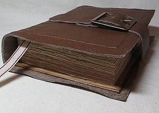 Papiernictvo - S listami farbenými čajom - 7976587_