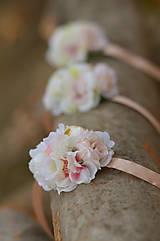 Náramky - V záhrade ruží... Náramky pre družičky - 7973706_