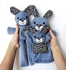 Hračky - Maňuška zajačik - Rodinka Uškových z Modrej Tône - 7974730_