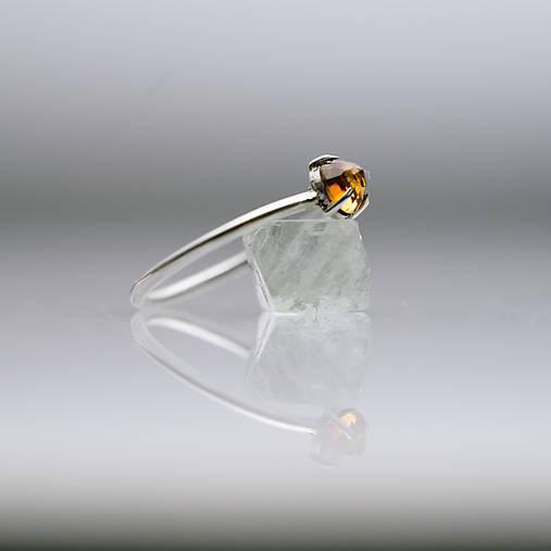 Prstene - prsteň s hessonitom - 7975353_