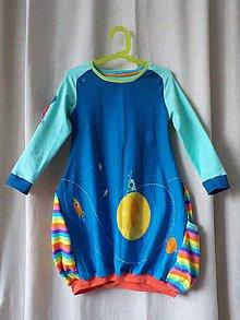 Detské oblečenie - Detské šaty - Space Station - 7974094_