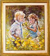 Obrazy - Prvá láska - na objednávku - 7975490_