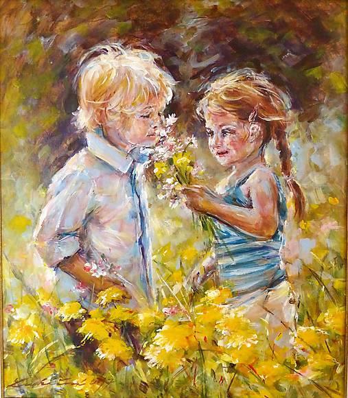 Obrazy - Prvá láska - 7975489_