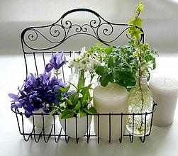 Nádoby - Stojan na  kvetináče - 7974058_