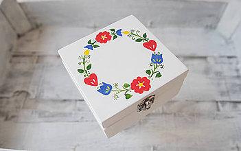 """Prstene - Svadobná krabička """" z lásky k folklóru """" - 7974688_"""