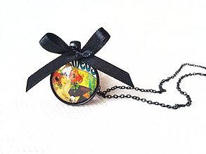 Náhrdelníky - Alphonse Mucha necklace - 7977303_
