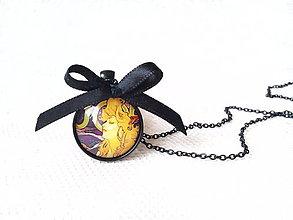 Náhrdelníky - Alphonse Mucha necklace - 7977324_