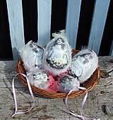 Dekorácie - Veľké veľkonočné vajíčko - Krásne romantické :) - 7978567_