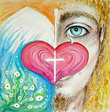 Obrazy - Soucit a bezpodmínečná láska - 7980110_