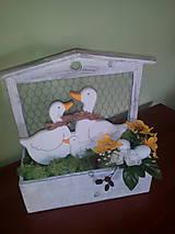 Dekorácie - Veľkonočná dekorácia Húsky - 7979515_