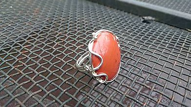 Prstene - Prsteň s jaspisom - 7979237_