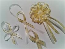 Pierka - Zlaté svadobné pierka - 7979280_