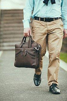 Na notebook - Kožená taška na notebook JO - 7977369_