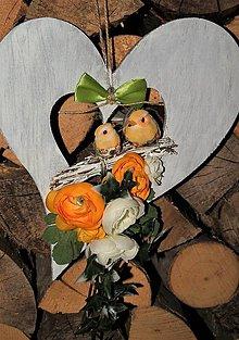 Dekorácie - Srdce 3 - 7979314_