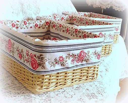 3a63a4af1 Košík v rustikálnom štýle 2 / BySong - SAShE.sk - Handmade Košíky