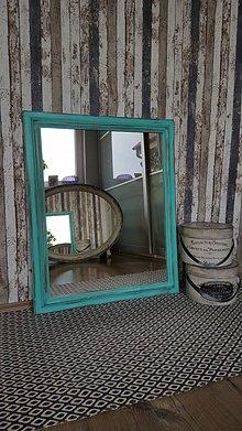 Zrkadlá - Tyrkysové zrkadlo - 7979183_