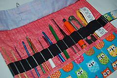 Úžitkový textil - háčiky - 7980106_