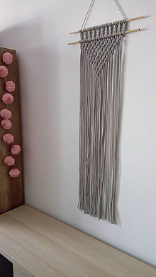 Dekorácie - Závesná dekorácia - macramé - 7977781_
