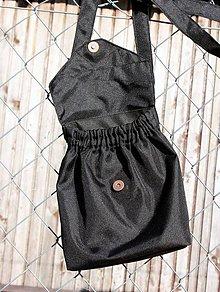Kabelky - Malá čierna kabelka - 7983501_