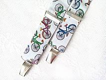Detské doplnky - Detské retro traky Retro bicykle - 7983152_