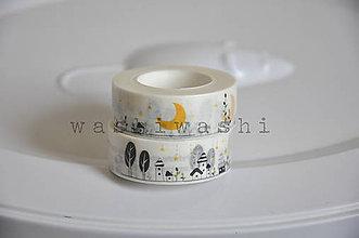 Papier - washi paska male mile mestecko - 7984455_