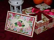 Papiernictvo - Ruže k 40-ke - 7983401_