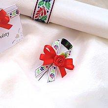 Darčeky pre svadobčanov - svadobné pierko